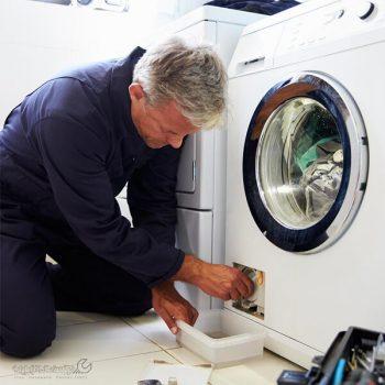 تمیز کردن فیلتر لباسشویی