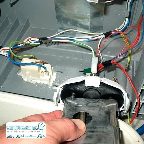 آموزش تعویض پمپ تخلیه ماشین ظرفشویی